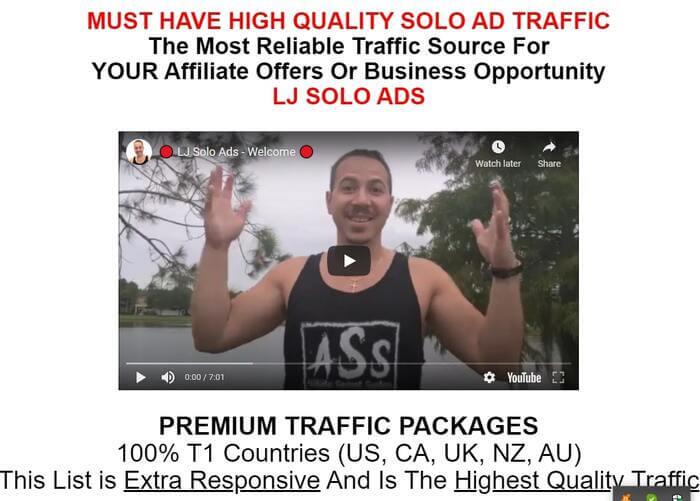 Best Solo Ads Vendor LJAlives
