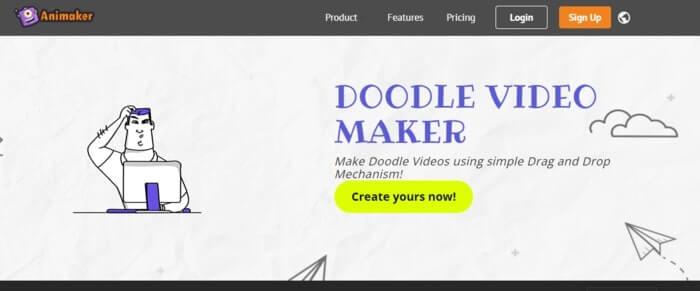 Animaker Doodle Video Software