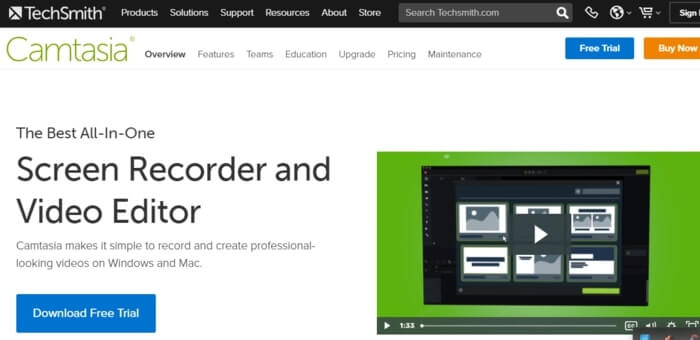 Camtasia for Doodle Video Creation