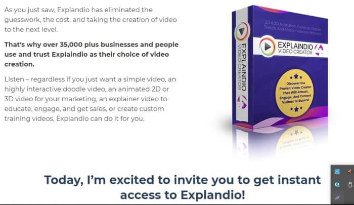 ExplaindioVideo Creator for Blackboard Animation Video Maker